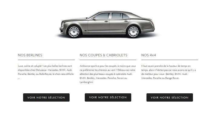 louer une Rolls Royce